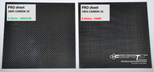 1K Carbon fiber PRO composite reed valve petal sheets CompoTec