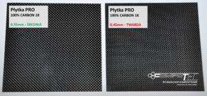 PLYTKA LISTEK PRO carbon zawor membranowy 0.35mm 0.45mm